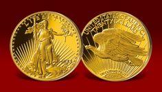 Replika najdroższej monety świata - Double Eagle z 1933 roku!