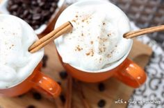 Pumpkin Latte at home... using a slow cooker.... yes.