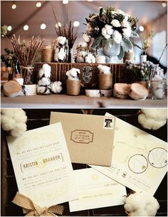 Cotton Wedding Inspiration