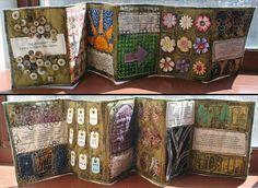 The most beautiful minibook I've ever seen! By Julie Fei-Fan Balzer.