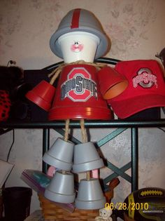 Image detail for -Clay Pot Crafts :: OSU pot person picture by cbstollerrn - Photobucket