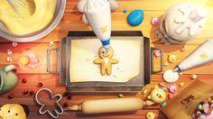 "Title : Cookie Run ""OvenBreak"" : The Sweet Escape (feat. GingerBrave)  Date : 29 September 2016  Client : devsisters  Running time : 00:00:38   Credits  Creative Director : Kim Kitae  Design : Yu Hyeji, Kim Kitae, Kwon Ohwan  3D & 2D Animation : Kim Kitae, Um taegong, Jo hyunkyu, Park Sungwoo, Jin Junggon  3D modeling : Kim Kitae, Um taegong, Jo hyunkyu  Sound : devsisters  delpic.com  델픽 디자인스튜디오 & devsisters All right reserved."