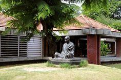 Sabarmati Ashram At Ahmedabad Gujarat - IndiaShor.com