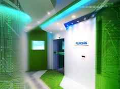 Aurora Digital Lighting Showroom in China 第一個內地的室內商空作品~