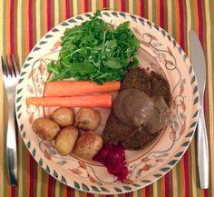 Gluten-Free, Vegan Festive Roast