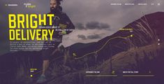 Diadora: Bright Delivery - Site of the Day April 25 2016