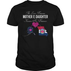 Idea Mother Day Leggings Texas TX Colorado CO The Love Between Mother /& Daughter Knows no Distance