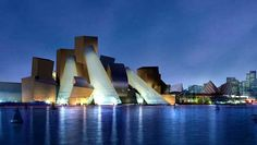 Guggenheim de Abu Dabi, proyecto Frank Gehry, término de la obra: 2017.