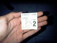 Ticket, IDR 50k whoooaa :O