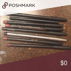 ‼️FREE w/ purchase‼️ used MAC lip pencil Choose ONE from the list below & I will update as items become unavailable. These are USED authentic MAC lip liners that have been sanitized/sharpened. Currant, Vino, Dervish, Whirl, Beurre, and Brick.  If seriously interested in purchasing the LOT, comment below & I will consider. For now, I just want to get rid of these as I am no longer using any MAC products. I have crates of unlisted MAC so if you are looking for something, let me know. MAC…