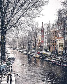 Hi, I'm Gabriel, a photographer based in Amsterdam, The Netherlands. Below you can see a small part of the snowy moments from the most famous places in Amsterdam - Dec Tour En Amsterdam, Amsterdam Winter, Visit Amsterdam, Amsterdam Travel, Amsterdam Netherlands, Amsterdam Christmas, Paris Travel, Snow Photography, Travel Photography