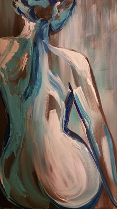 The female form is a figure I paint often. It depicts silence and loss. A quite and a grace in the face of adversity. The figure is still while still moving and emotional. Thick brush stroke and palate knife was used to show movement and depth. This was done on 1 1/2 depth and varnished to preserve. Ready to hang. Enjoy.