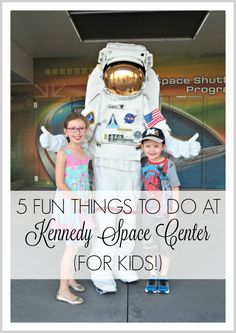 Shining like a beacon of scientific brilliance amongst the low-brow (but super fun!) Disney and Universal madness, the Kennedy Space Center Visitor Complex is a must-do when you visit Orlando in Florida. But there's a massive amount on offer, so here are our top 5 fun things to do at Kennedy Space Center (for kids!).