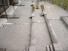© extrā Landschaftsarchitekten -  Gotthelf school, Thun, 2008 Sidewalk, Stairs, Landscapes, Culture, School, Landscape, Paisajes, Stairway, Scenery