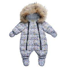 Fendi Baby Boys 'Roma' Print Snowsuit at Childrensalon.com