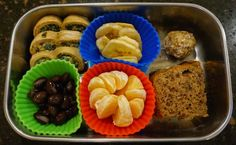 Bento for Baby 79: Palmiers and Banana Bread