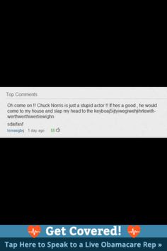 Ok I hate the hole Chuck Norris jokes but this one is funny as hell!