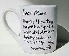 Cheap yet cute mothers day gift!