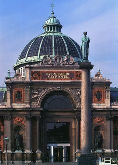 Glyptotek, Copenhagen, built by Carlsberg Glyptotek housing his collections of ancient sculpture