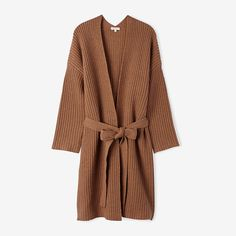 50 Chic Winter Wardrobe Must-Haves - a cozy cardigan to keep you warm from InStyle.com