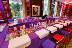 Candy theme activities table in our Boston Ballroom.