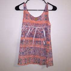 Tribal print tank top Tribal print tank top, super flowly and light. Perfect with denim shorts. From Brazilian boutique Tops Tank Tops