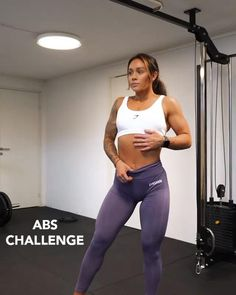 Fitness Workouts, Abs Workout Routines, Fitness Workout For Women, At Home Workouts, Core Workout Women, Gym Fitness, Ab Core Workout, Gym Workout Videos, Butt Workout