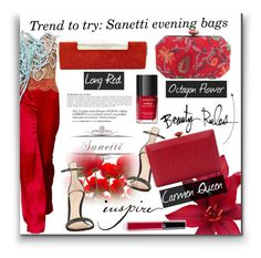 """""""S A N E T T I"""" by wannanna ❤ liked on Polyvore featuring Gianvito Rossi, Bobbi Brown Cosmetics, Giorgio Armani and Anja"""