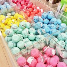 EOS lip balms. Personally, not a huge fan. They do nothing but aren't bad to put under lipsticks
