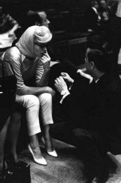 Marilyn at Rehearsal for the  JFK Birthday gala