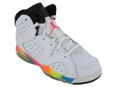 I had these in 7th grade...I think the girls would love them - Nike Kids NIKE AIR JORDAN 6 RETRO (PS) BASKETBALL SHOES