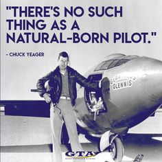 Chuck Yeager #aviationquotes #pilots #pilotsquotes #aviationhistory #aviation