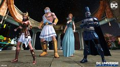 Dc Universe Online, Superman, Batman, Level Up, Aquaman, The Flash, The World's Greatest, Dc Comics, Wonder Woman