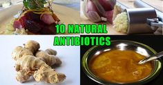 10 Natural Antibiotics That Fight Infection – What Drug Companies Don't Want You To Know