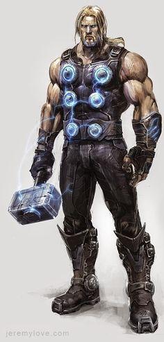 MCU Thor looking rather pimptastic.