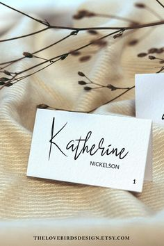 Editable Place Card Template for Simple Modern Wedding Name   Etsy Moon Wedding, Celestial Wedding, Wedding Name, Wedding Places, Wedding Place Cards, Place Card Template, Baby Shower Signs, Modest Wedding, Name Tags