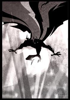 Batman  by ~rictercio
