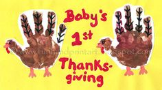 This was my baby girl's 1st Thanksgiving- although she is hardly a baby anymore, sniff, sniff. They grow too fast- I totally get why some people have so many! I honestly feel like they should have to be cute, chubby, little babies for at least 2 years…. lol! Anyway, back to the Handprint Turkey. It …