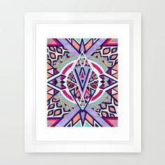 Abstract Journey II Framed Art Print #geometric #poster #print #homedecor #decor #geometricart #moderndecor #forthehome #decorideas #interiordesign