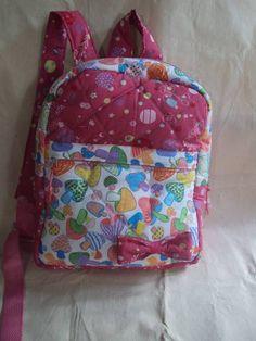 mochila infantil 100% algodão, disponível em outras estampas. R$ 65,89                                                                                                                                                                                 Mais