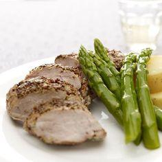 Solomillo a la mostaza y balsámico con patatas | Recetas de carne,Segundos platos,Vapor | Recetas Lékué