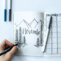 Plan with me #bulletjournal November spread is now live on my channel. Link is in my bio! What did you make this month in your bullet journal?