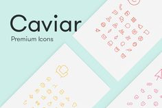 Caviar - Premium Icons by @Graphicsauthor
