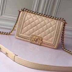 b1373a0dd61d5 Chanel Calfskin Small Boy Chanel Jacket Flap Bag Size  20 cm Top quality  imported calfskin Vintage gold-tone hardware It comes with ser.