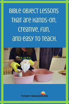 These simple Bible object lessons will help you to engage children ages K through 6th grade and help them grow spiritually. Chronological Bible Teaching for kids! | At Home Bible Object Lessons for Kids | Homeschool Bible Lessons Sunday School Curriculum, Sunday School Activities, Chronological Bible, Bible Object Lessons, Bible Teachings, Help Teaching, Lessons For Kids, Homeschool, Children