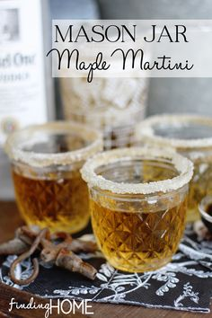 Maple Martini