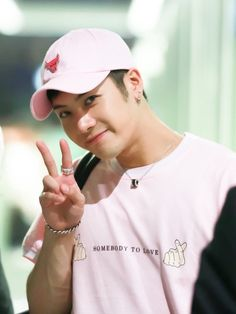 Jackson Wang Pretty In Pink