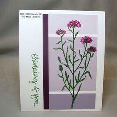 Paint chip Wild About Flowers- Nacho Average Sketch Challenge #153