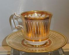 Rrare Antique Royal Chelsea Porcelain Cup Saucer Cathedral Nr photo