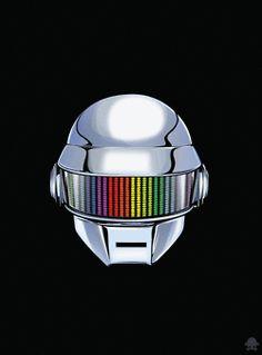 Daft Punk by Gerrel Saunders